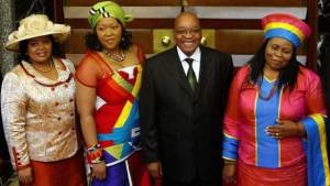 Jacob Zuma marriages